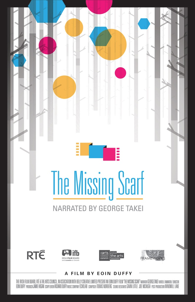 The missing scarf poster